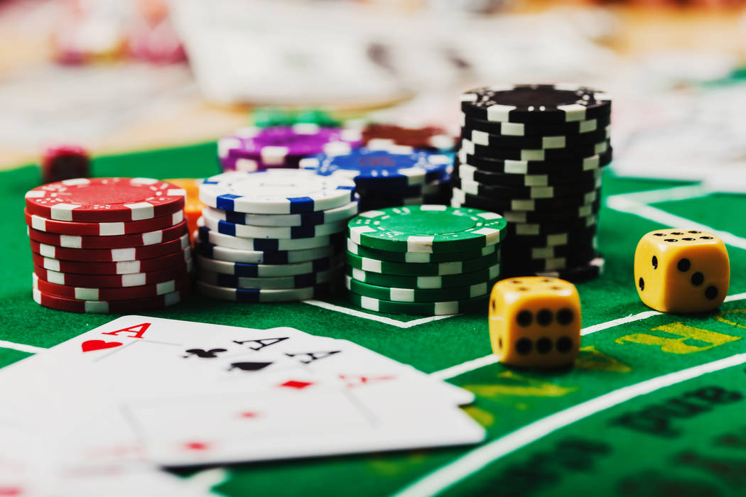 Getty Images Gaming revenue for Nye County was down more than 4.5% for table, counter and card ...