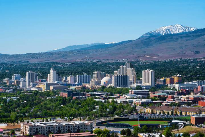 Getty Images Columnist Dennis Myers writes that every day, he gets news releases touting Nevada ...