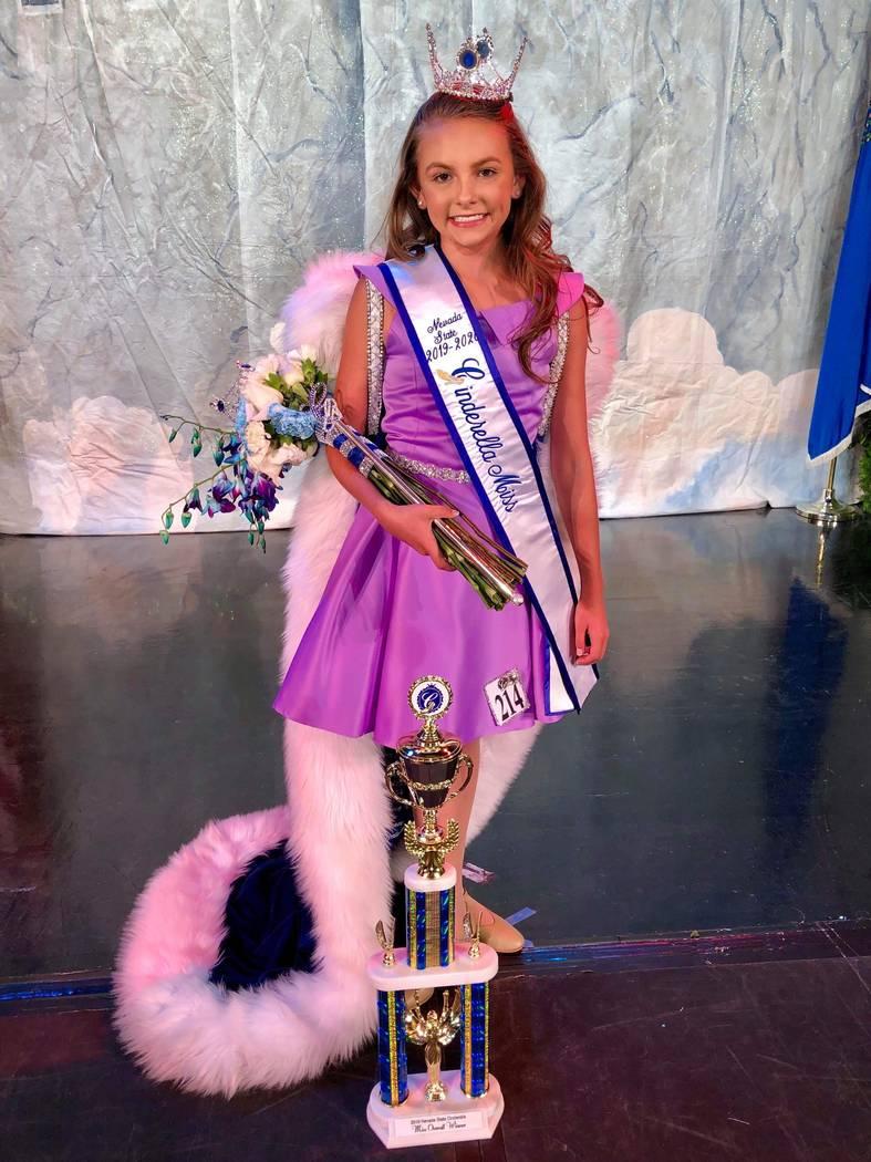 Nevada State Cinderella program/Special to the Pahrump Valley Times Pahrump resident Tayela Bro ...