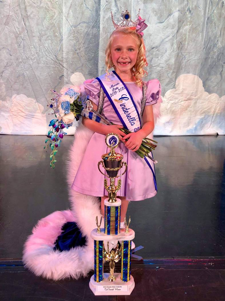 Nevada State Cinderella program/Special to the Pahrump Valley Times Kinley Smith was the overal ...