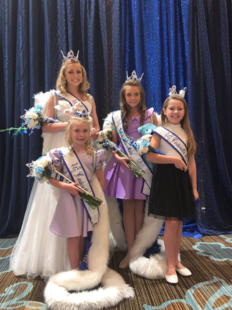 Nevada State Cinderella program/Special to the Pahrump Valley Times Pictured is Sienna Brown (s ...