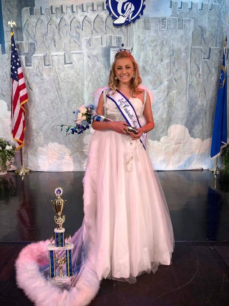 Nevada State Cinderella program/Special to the Pahrump Valley Times Pahrump resident Sienna Bro ...