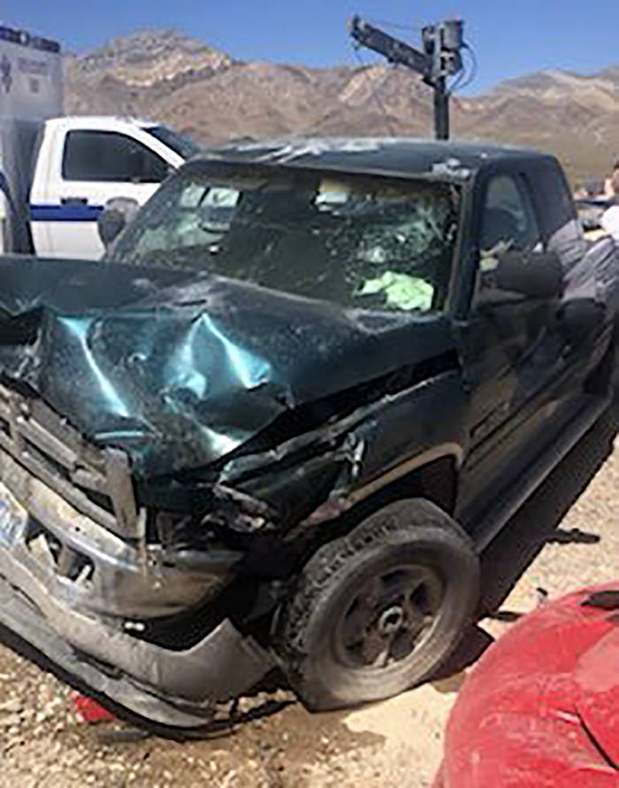 Head-on crash kills 1 in Nye County | Pahrump Valley Times