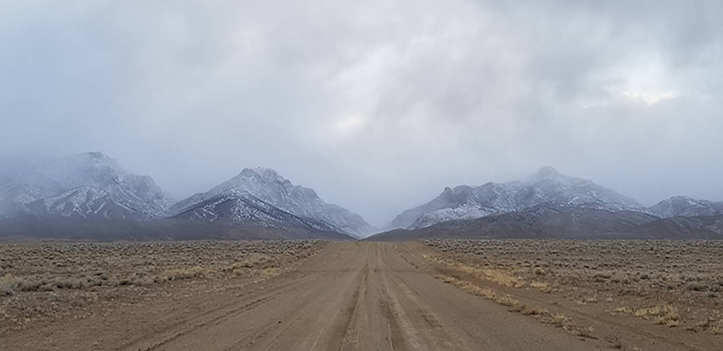 Photo Courtesy of Barrian Mining Corp. The Bolo Gold Project is 56 miles northeast of Tonopah a ...