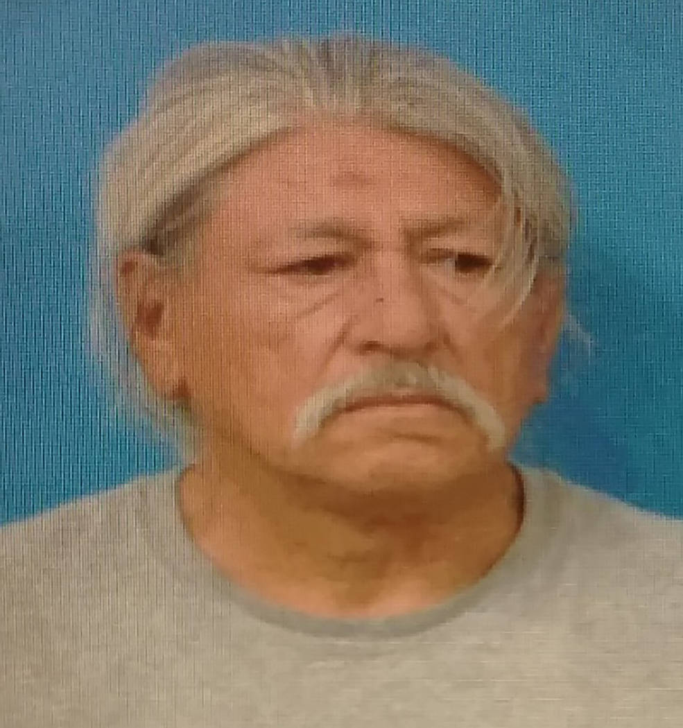 Special to the Pahrump Valley Times Edward Coronado, 63, is facing several charges following hi ...