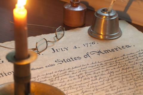"Thinkstock From the events of July 4, 1776, we should learn what ""sacrificing everything"" r ..."