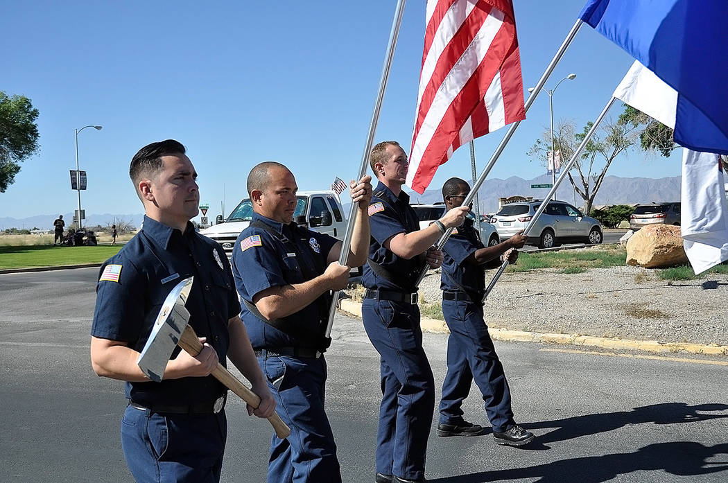 Horace Langford Jr./Pahrump Valley Times - The Pahrump Valley Fire and Rescue Services color ...