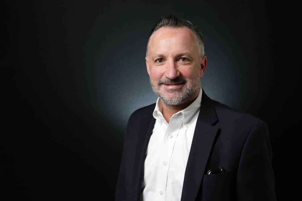 Michael Quine/Las Vegas Review-Journal Nevada Sen. Chris Brooks, D-Las Vegas, spoke at Valley E ...