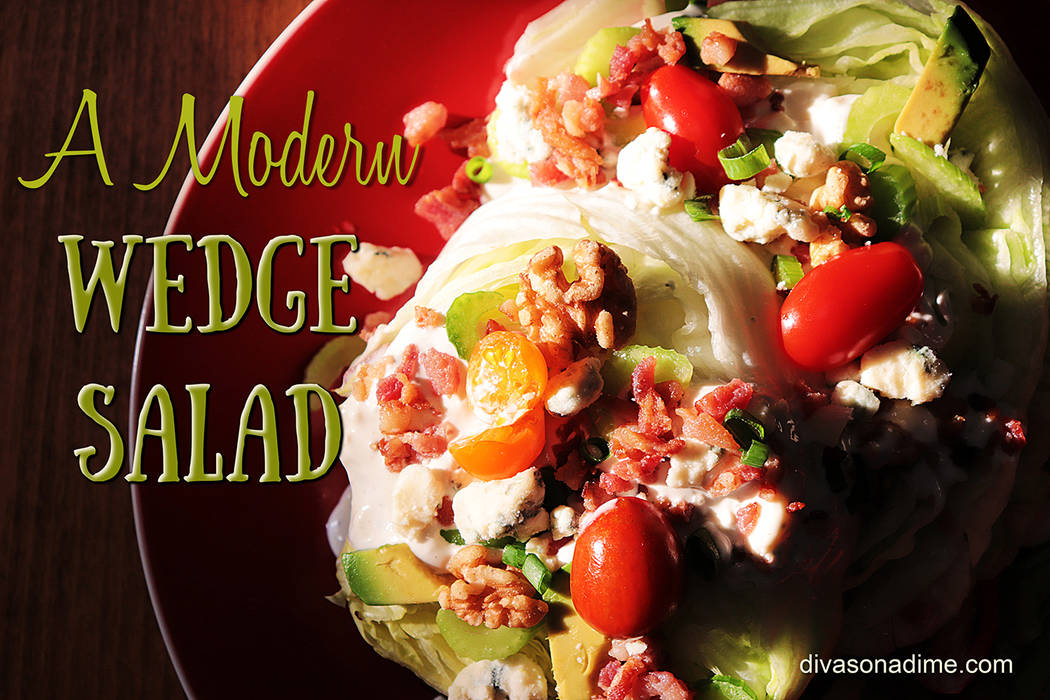 Patti Diamond / Special to the Pahrump Valley Times The wedge is a simple salad, perfect in its ...