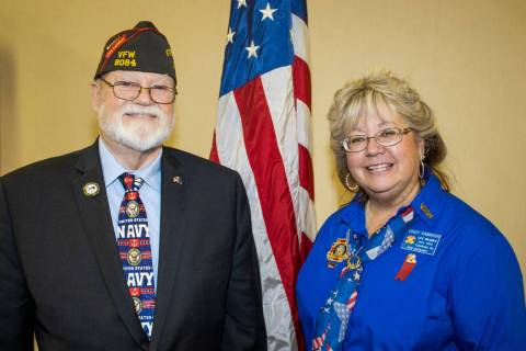 Special to the Pahrump Valley Times During the recent VFW Department of Nevada annual state co ...