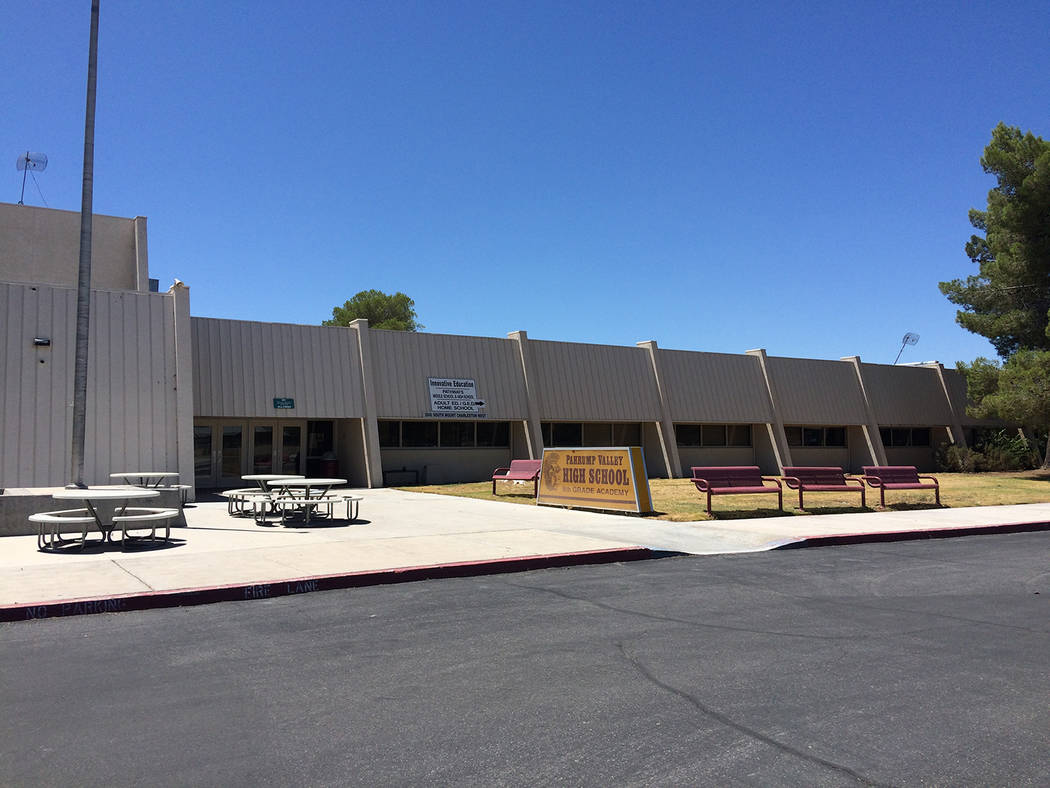 Robin Hebrock/Pahrump Valley Times The Pathways Innovative Education building is the new locati ...