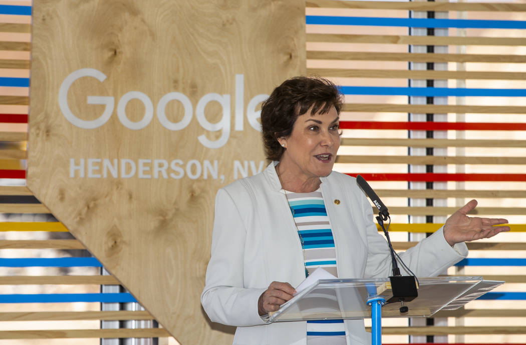 L.E. Baskow/Las Vegas Review-Journal Sen. Jacky Rosen has requested the Committee on Commerce, ...