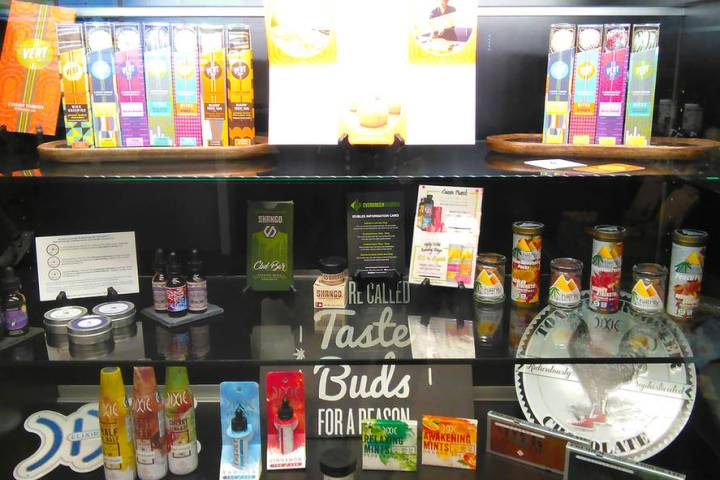 Selwyn Harris/Pahrump Valley Times The revenue from licensing establishments that cultivate ma ...