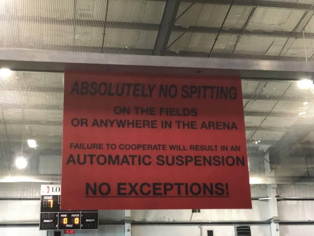 Tom Rysinski/Pahrump Valley Times Longevity Sports Center takes some elements of decorum very s ...