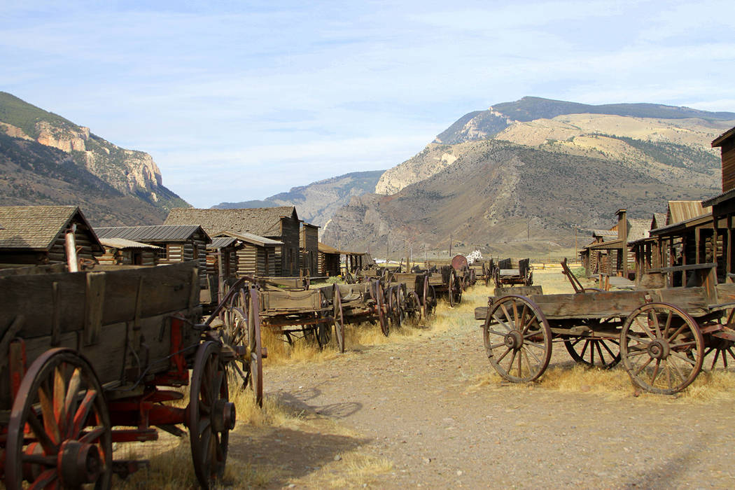 Getty Images The west was settled by pioneers who struck out in covered wagons, heading for new ...