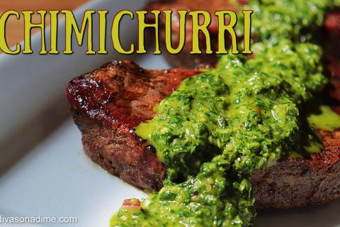 Patti Diamond/Special to the Pahrump Valley Times Chimichurri is an uncooked condiment made fro ...