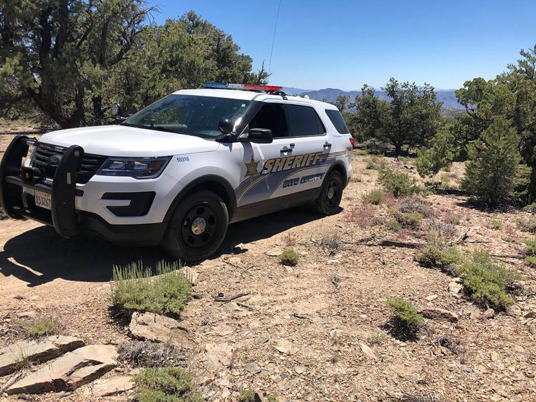 Inyo County Sheriff's Office/Facebook file photo Names will not be released until next of kin a ...