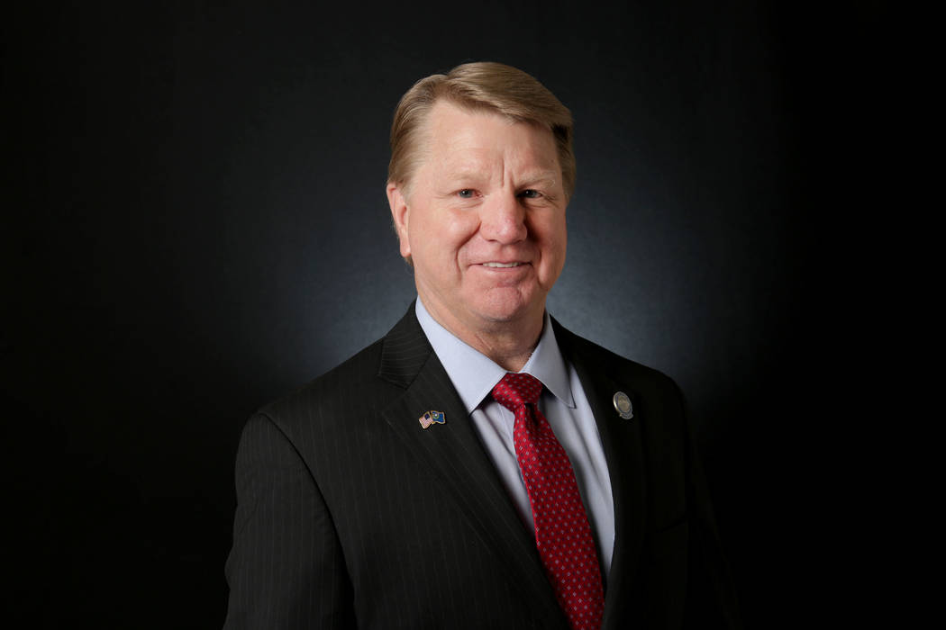 Michael Quine/Las Vegas Review-Journal Former Nevada Assemblyman and 2020 Nevada Congressional ...