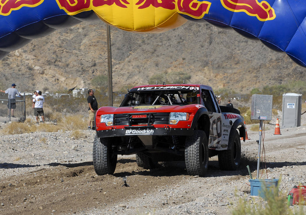 Horace Langford Jr./Pahrump Valley Times The General Tire Vegas to Reno race traditionally star ...