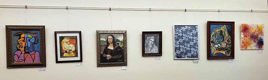 """Pahrump Arts Council The Readers Nook of the Pahrump Community Library is displaying the """"Simul ..."""