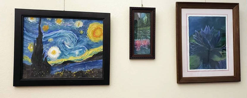 """Pahrump Arts Council The """"Simulate the Masters"""" exhibit opened July 26 and continues to Oct. 18 ..."""