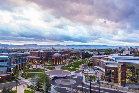 Courtesy of the University of Nevada, Reno Since the events happened over the summer, the Unive ...