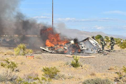 Special to the Pahrump Valley Times On Sunday July 28, at approximately 6:30 p.m., Pahrump fire ...