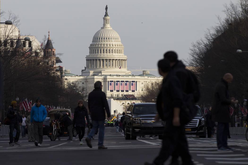 Erik Verduzco/Las Vegas Review-Journal Sam Peters said he wants to restore integrity to Congres ...
