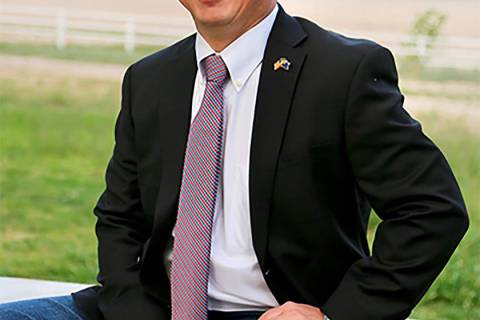 Courtesy of Sam Peters Nevada District 4 Congressional Candidate Sam Peters owns two business i ...