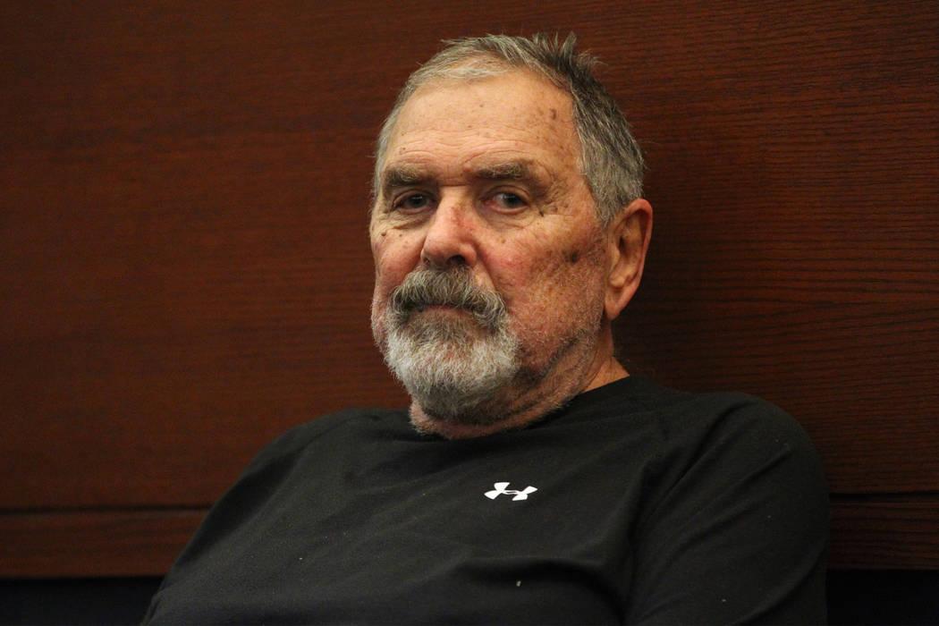Erik Verduzco/Las Vegas Review-Journal Marcel Chappuis appears in court for a bail hearing at t ...