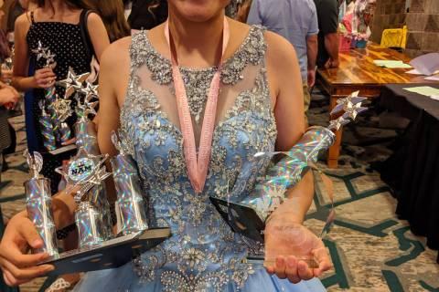 Photo courtesy of Monica Scott Risingstar St. Marie earned 1st Runner-up honors in the Runway M ...