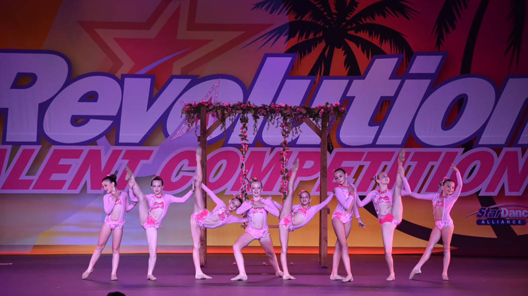 Special to the Pahrump Valley Times Members of the Nevada Dance Centre competition team perform ...