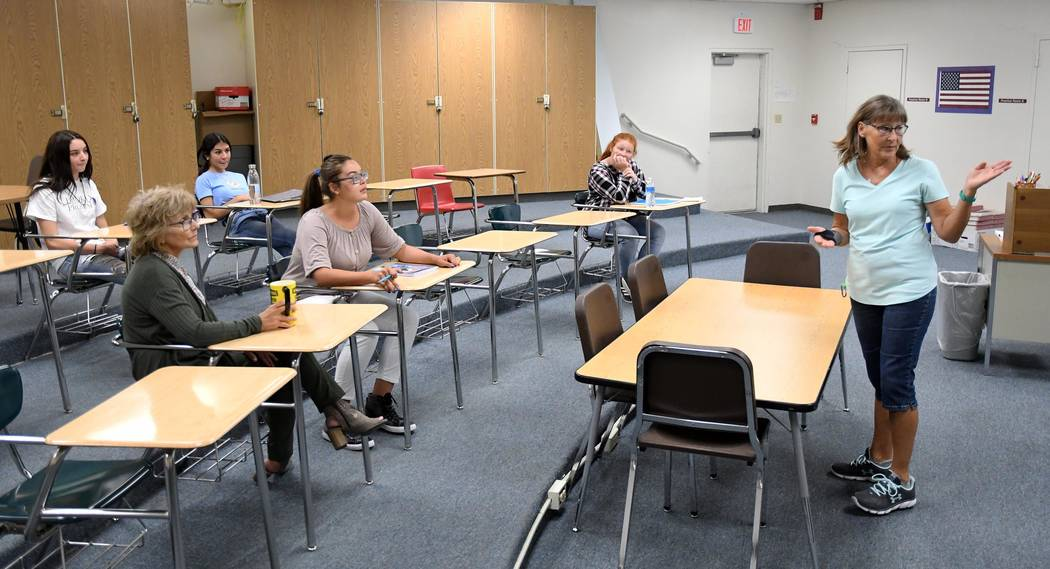 Richard Stephens/Special to the Pahrump Valley Times All of the schools have gone to a four-day ...