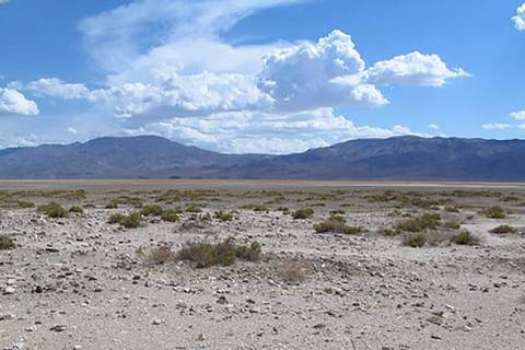 U.S. Bureau of Land Management Public lands at the south end of Panamint Valley as shown in a p ...