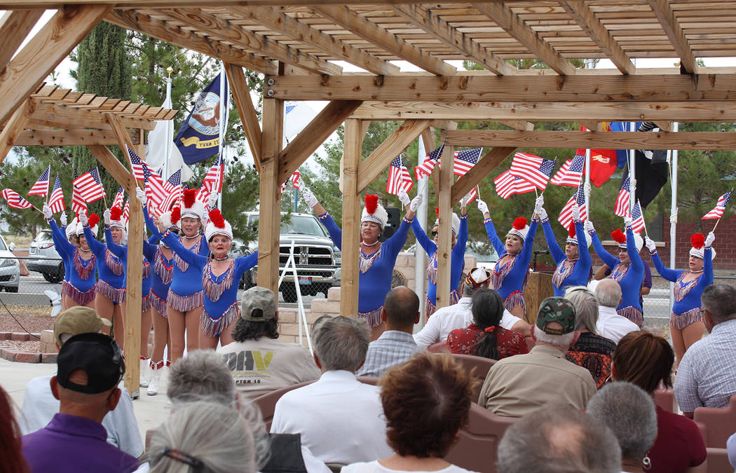 Robin Hebrock/Pahrump Valley Times The Nevada Silver Tappers performed a patriotic dance routin ...