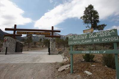 Special to the Pahrump Valley Times Pictured is the Spencer W. Kimball Scout Reservation, which ...