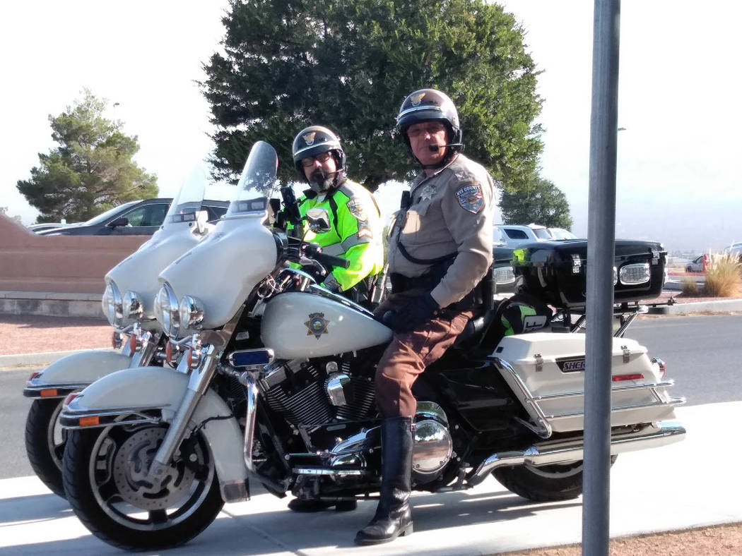 Selwyn Harris/Pahrump Valley Times Local sheriff's patrol deputies have joined forces with la ...