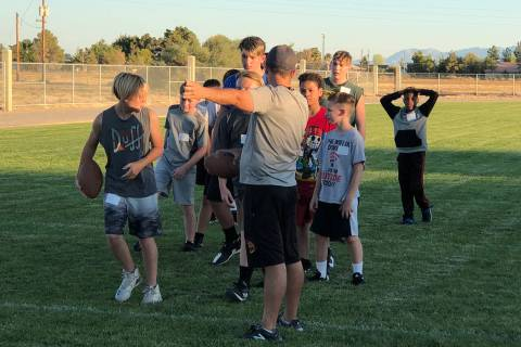 Tom Rysinski/Pahrump Valley Times More than 60 students tried out for the revived Rosemary Clar ...