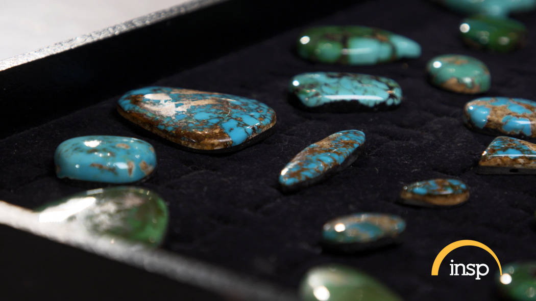 Turquoise can be more valuable than gold, depending on the quality. (INSP)