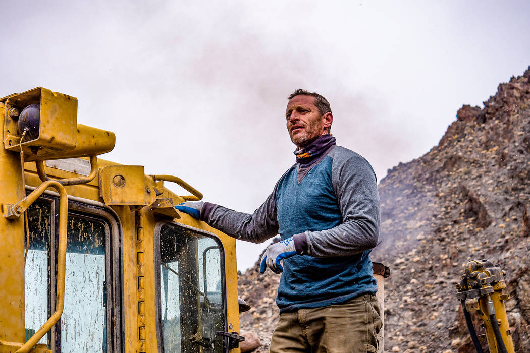 Talk about grueling conditions, Tony Otteson once mined in 130-degree temperatures. (INSP)