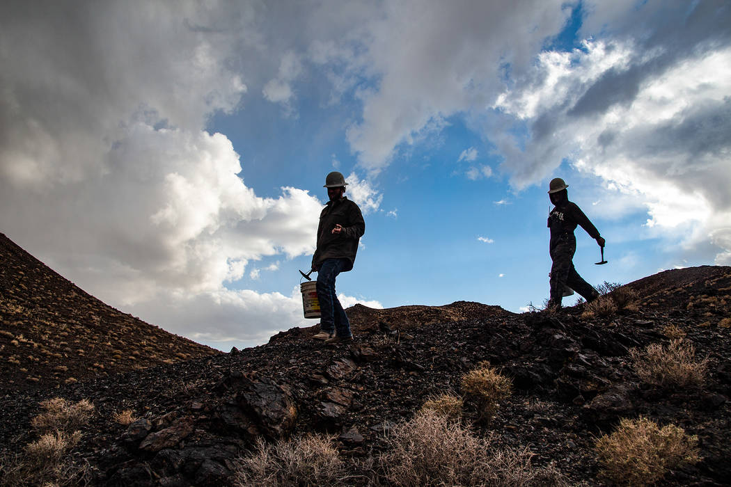 Many of the Otteson's mines are at 7,000 feet above sea level, resulting in punishing heat bene ...