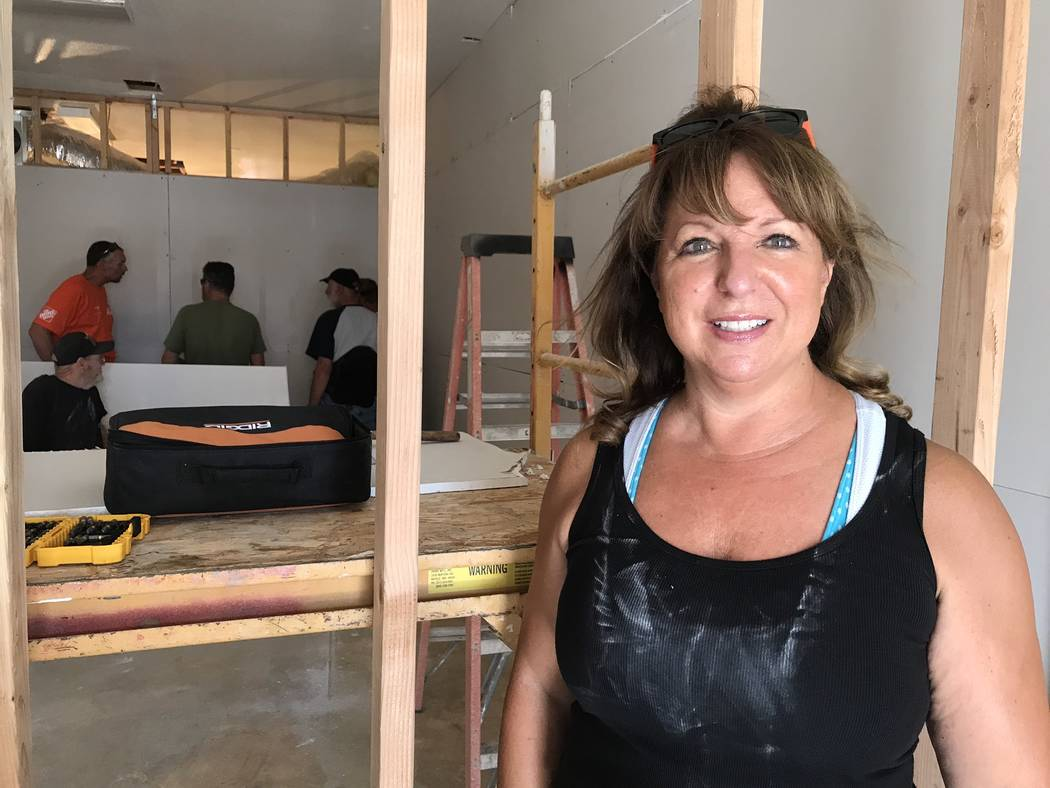 Jeffrey Meehan/Pahrump Valley Times Shelley Poerio, CEO and founder of Living Free Health and F ...
