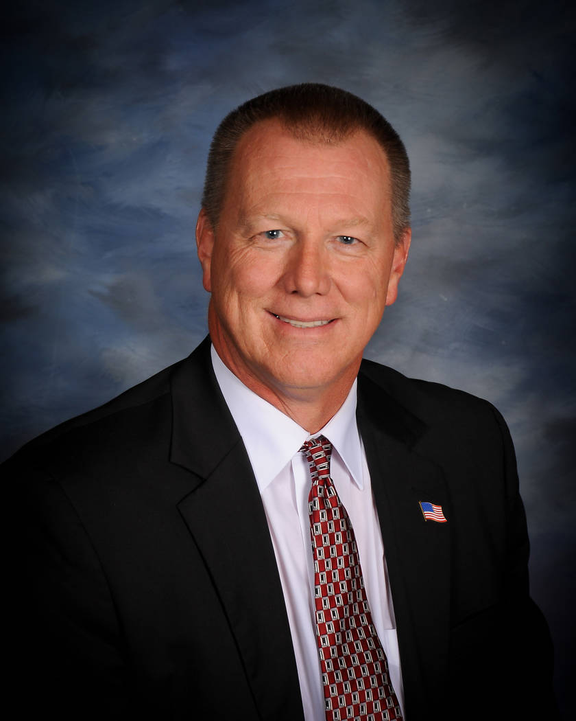 Special to the Pahrump Valley Times Nye County School Superintendent Dale Norton as shown in a ...