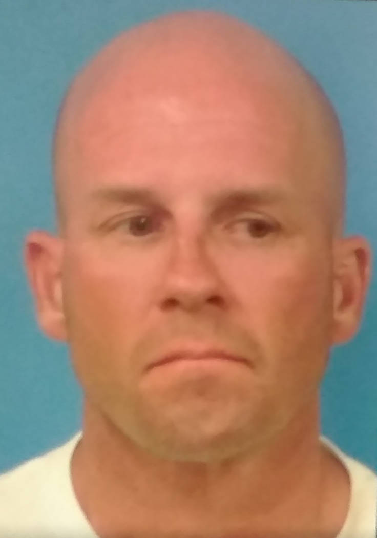 Photo courtesy of Nye County Detention Center Pahrump resident Christopher Storm, 47, was booke ...