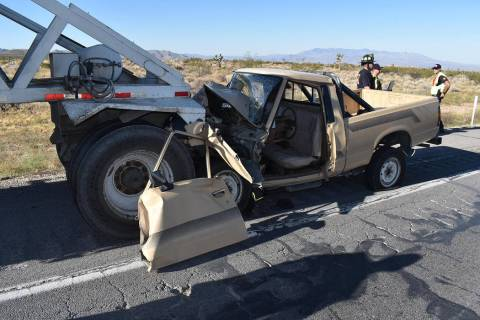 Special to the Pahrump Valley Times One man was transported via Mercy Air to UMC Trauma in Las ...