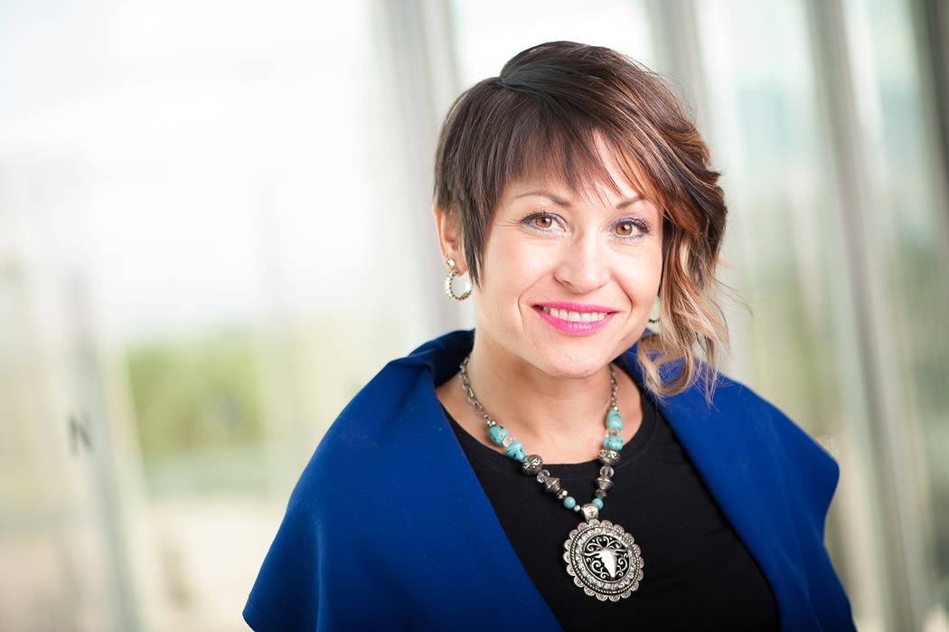 Nevada Arts Council Amanda Horn is senior vice president of communications for the Nevada Museu ...