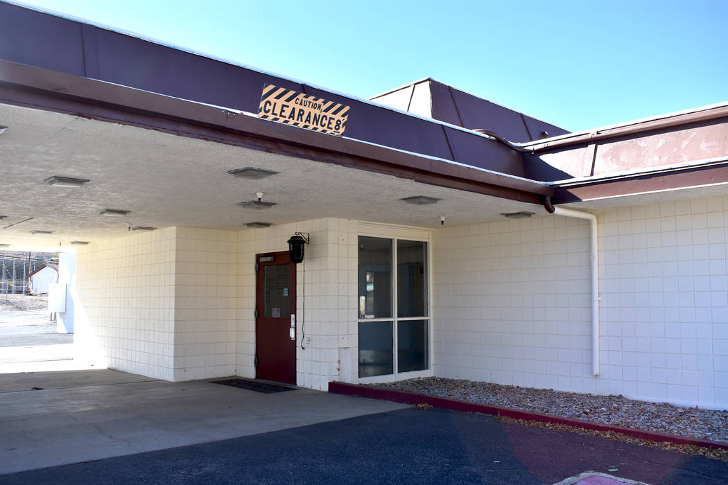 Daria Sokolova/Pahrump Valley Times file The former Nye Regional Medical Center sits along Mai ...