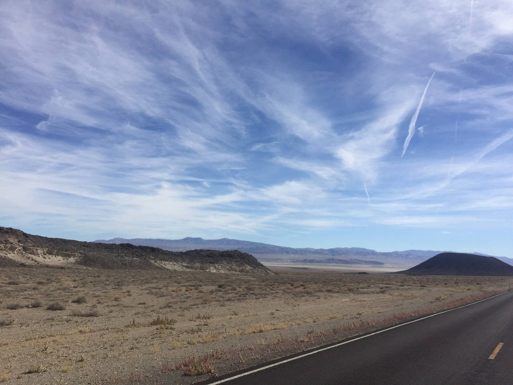 Argosy Minerals Limited A view from the Tonopah Lithium Project property looking south. Lithium ...