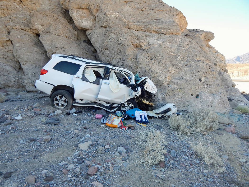 California Highway Patrol/Facebook The crash was reported at 3:18 p.m. Aug. 25 along California ...