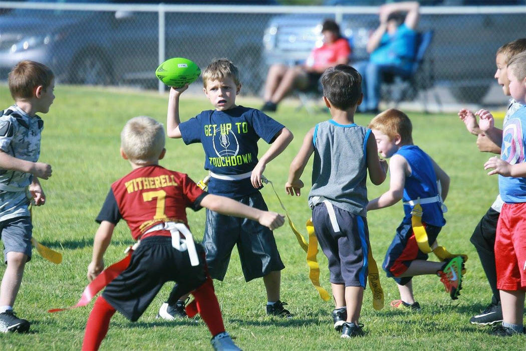 Special to the Pahrump Valley Times Pahrump's flag football season in Nevada Youth Sports is in ...